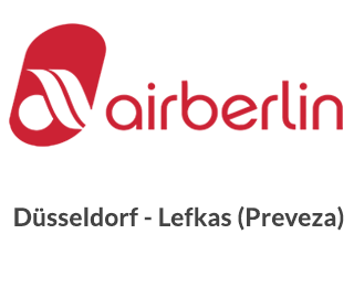 Airberlin Dusseldorf Lefkas