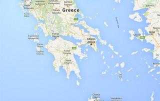 griekenland kaart